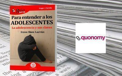 El «GuíaBurros: Para entender a los adolescentes», de Irene Sáez, en la revista digital Quonomy.com